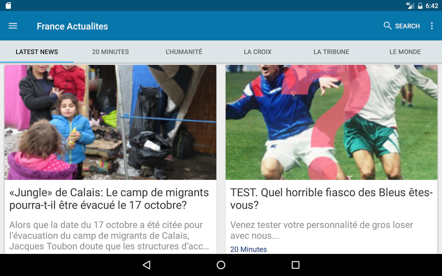France Actualités- screenshot