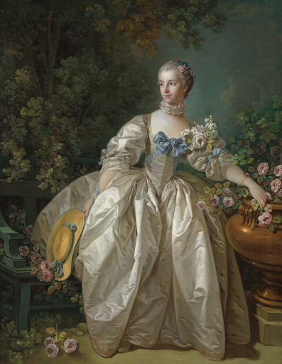 Madame Bergeret (1766 ?), New York, Metropolitan Museum of Art.