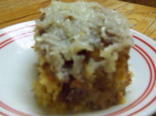 Banana-coconut Crunch Cake Recipe