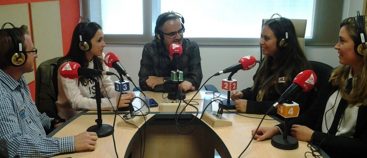 Hablemos de Fallas en UPV RTV. Programa nº 20 / 25-10-2017. Isabel, Patricia y Paqui.