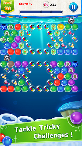 Fish Rescue : Bubble Shooter Game image   2