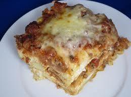 Short Cut Italian Style Lasagne Recipe