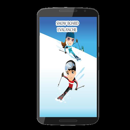 Snow Board Evalanche