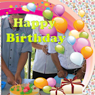 Happy Birthday Photo Frame icon