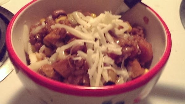 Sweet And Spicy Vegetarian Chili Recipe