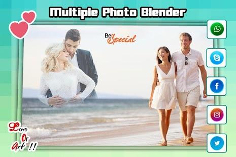 Multiple Photo Blender Double Exposure - náhled