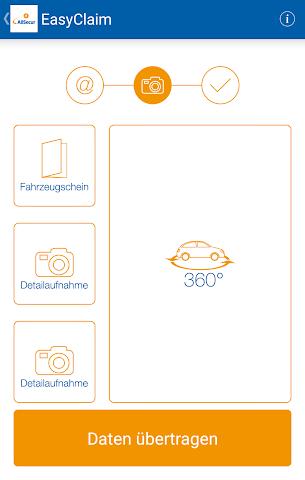 android EasyClaim AllSecur Screenshot 2