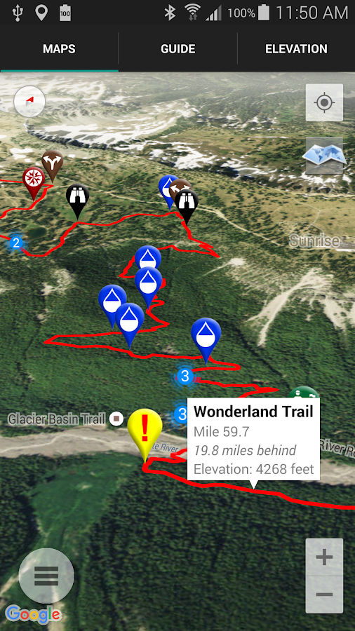 Wonderland Trail by Tami Asars- screenshot