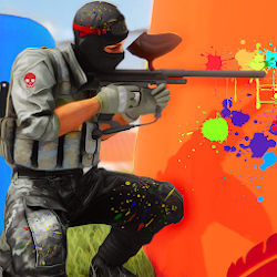 PaintBall Shooting Arena3D : Army StrikeTraining