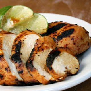 Grilled Chile-lime-ponzu Chicken