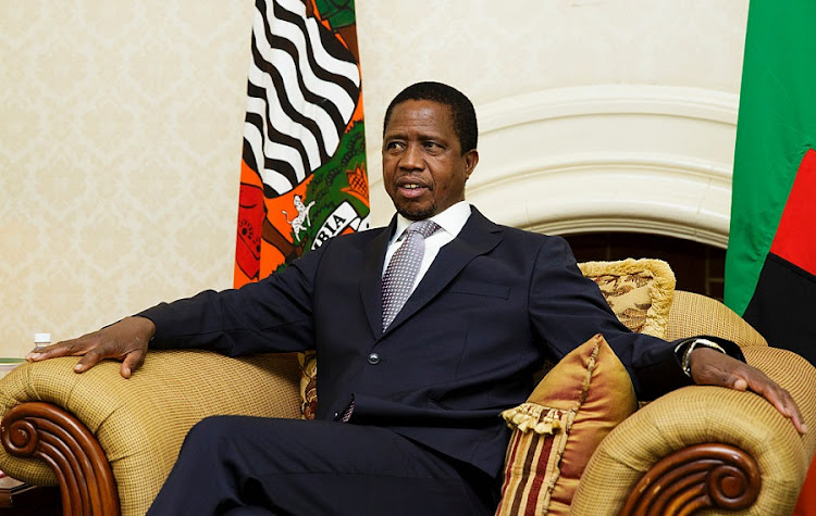 Edgar Lungu. Picture: GETTY IMAGES