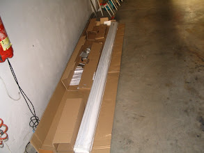Photo: En este brico voy a montar un toldo Omnistor. Viene embalado. Tiene 3 metros de longitud.