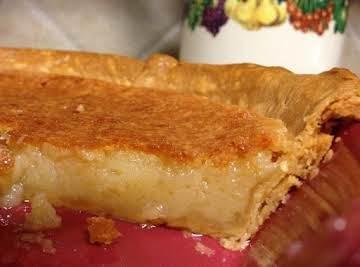 Simple Buttermilk Pie