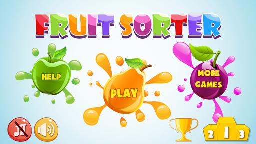 反応のフルーツソーターゲーム