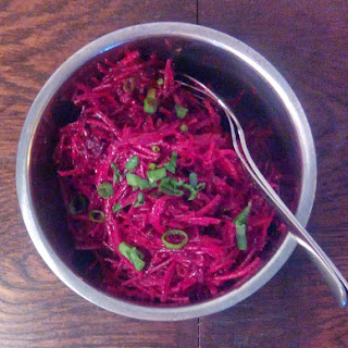 Easy Shredded Beet Salad (AIP, paleo)