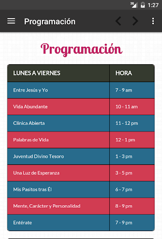 android Ministerio 7Day (App Oficial) Screenshot 18