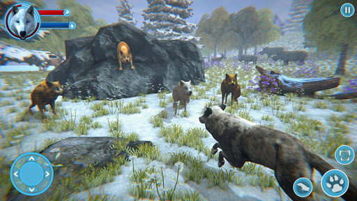 Arctic Wolf Family Simulator: Wildlife Games 5 screenshots 9