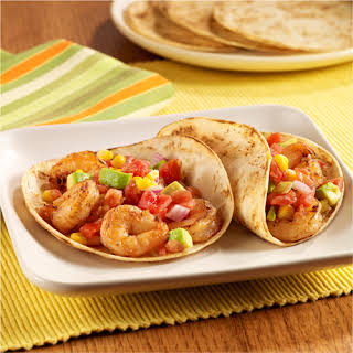 Grilled Shrimp Tacos.