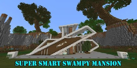 Super Smart Swampy Mansion Map for MCPE 1 1 latest apk
