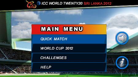 ICC T20 World Cup 2012 1.0.23 screenshot 252574