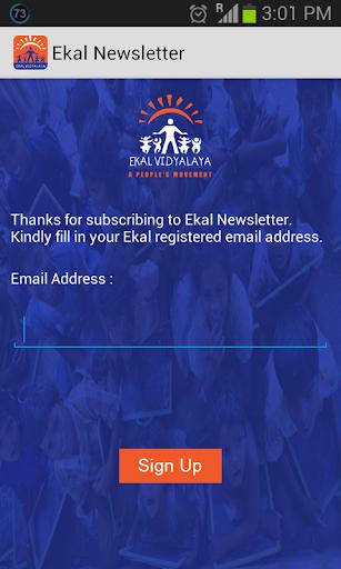 Ekal Newsletter