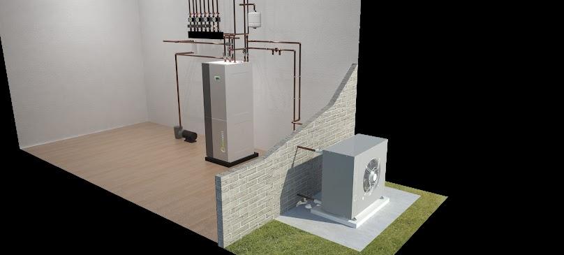 Pompa ciepła typu powietrze-woda
