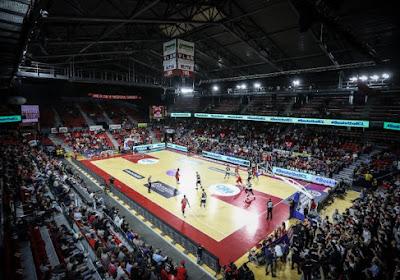 Le match entre les Castors Braine et Polkowice n'aura pas lieu au Spiroudôme de Charleroi
