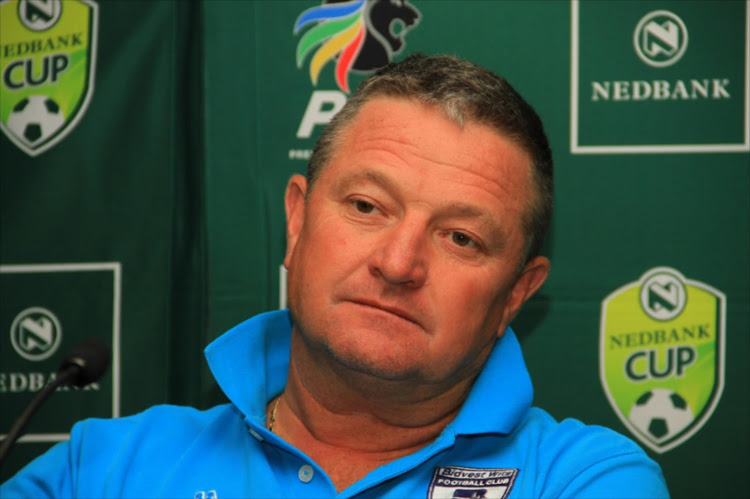 Gavin Hunt (head coach) of Bidvest Wits.