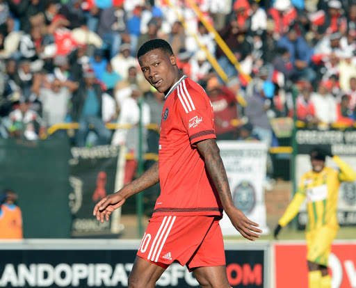 Thamsanqa Gabuza of Orlando Pirates.
