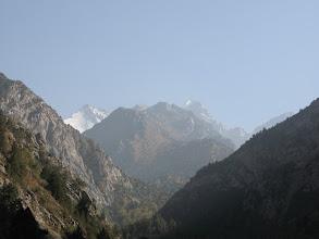 Photo: Shait, Bursun & Shait peaks far
