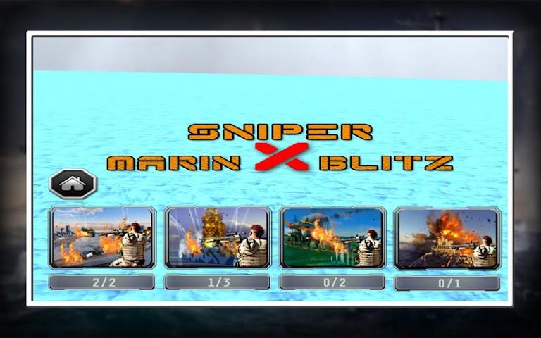 android Sniper X Marine Blitz Screenshot 11