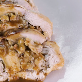 Stuffed Chicken Lombardy-Style