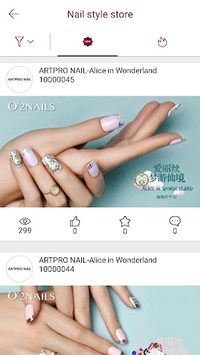 O2NAILS - Nail Art Fashion  screenshots 2