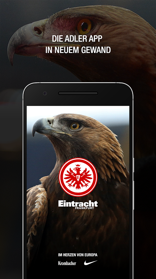 eintracht frankfurt adler app android apps on google play. Black Bedroom Furniture Sets. Home Design Ideas
