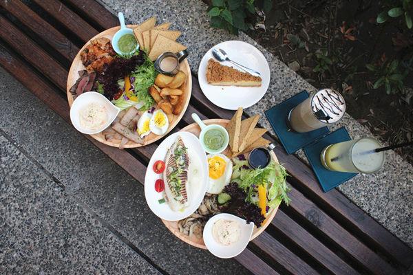 找伍食Find Fifth-台中西區健康飲食早午餐,豆漿派好吸睛
