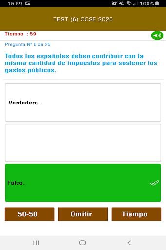 CCSE 2020 Examen Nacionalidad Espau00f1ola screenshots 7