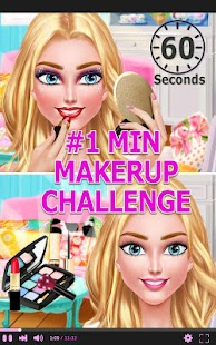 Fashion Blogger - 1 Min Makeup – Miniaturansicht des Screenshots