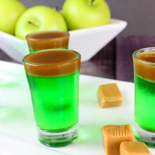 Caramel Apple Jello Shots.