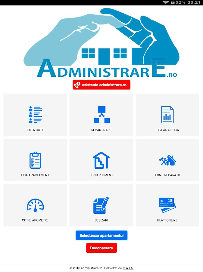 administrare.ro- screenshot
