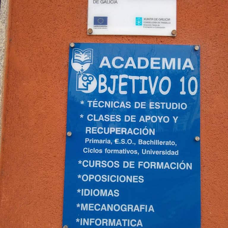 Academia Objetivo 10 Centro De Formacion En O Carballino Ourense