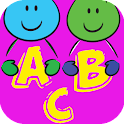 alphabet for baby and kids icon