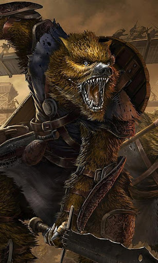 狼人幻想壁纸