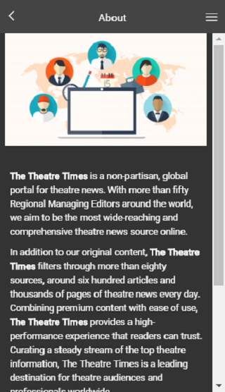 The Theatre Times- screenshot