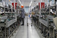 A glimpse at one of our supplier's factories in China