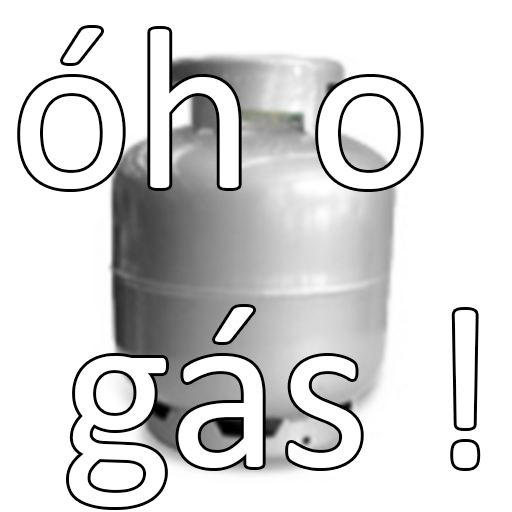 O o gás