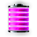 Purple Battery icon