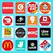 すべての食品注文アプリ