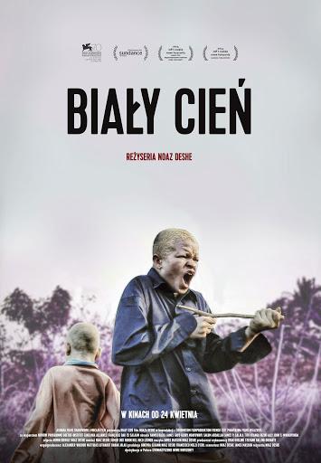 Polski plakat filmu 'Biały Cień'