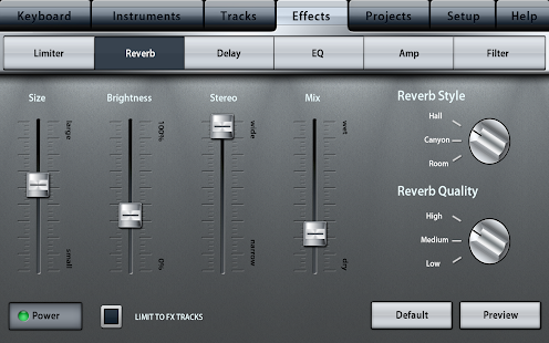 Music Studio Screenshot