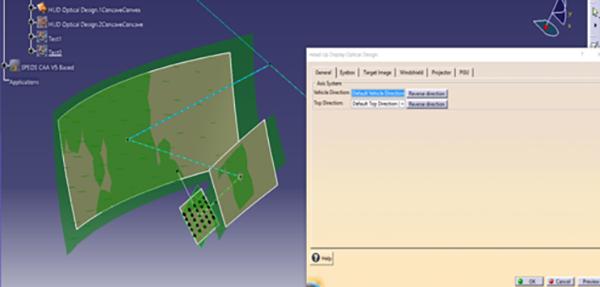 ANSYS | Модуль ANSYS SPEOS HUD для моделирования Head-Up дисплеев